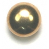 Garment Studs Dome Gold 9mm